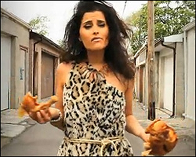 Nelly Furtado Cavewoman